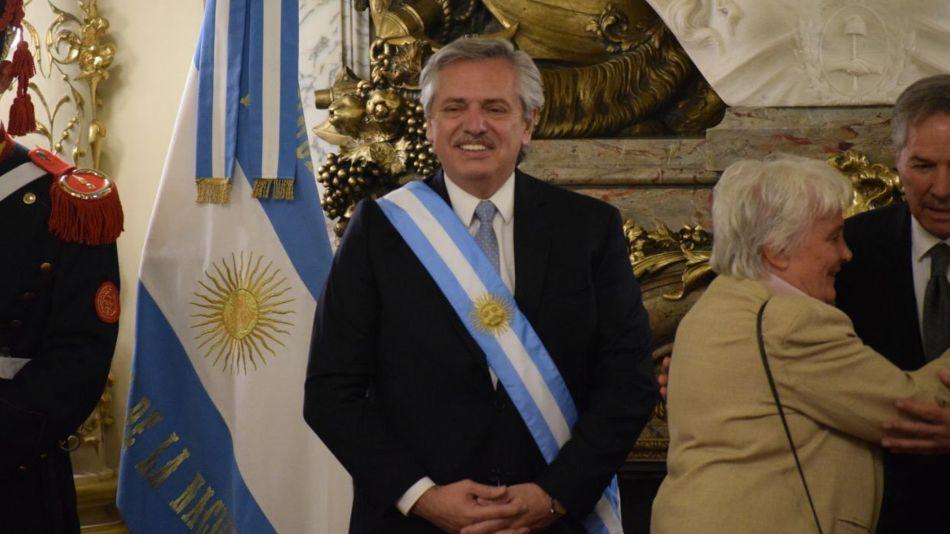 El discurso de Alberto Fernández dedicado a las mujeres