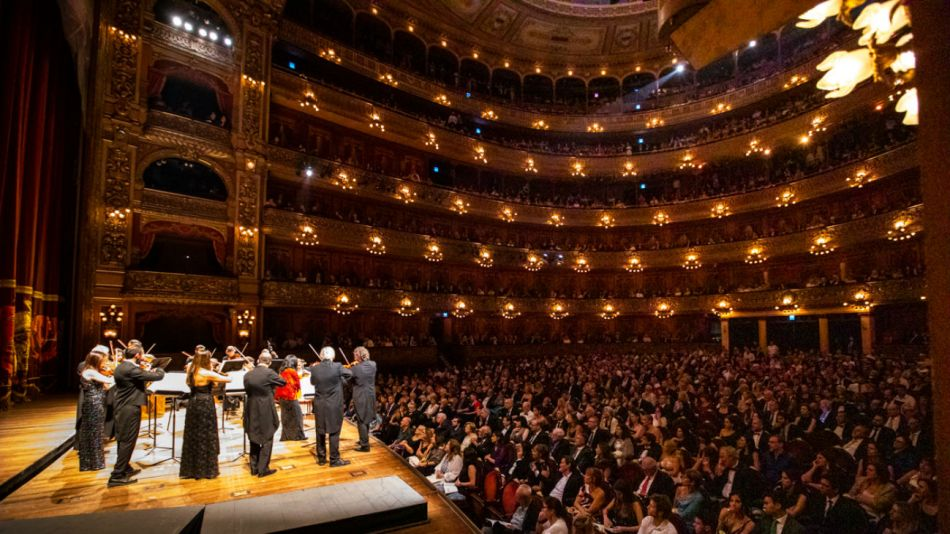 El Teatro Colón se llenó de música de Vivaldi.