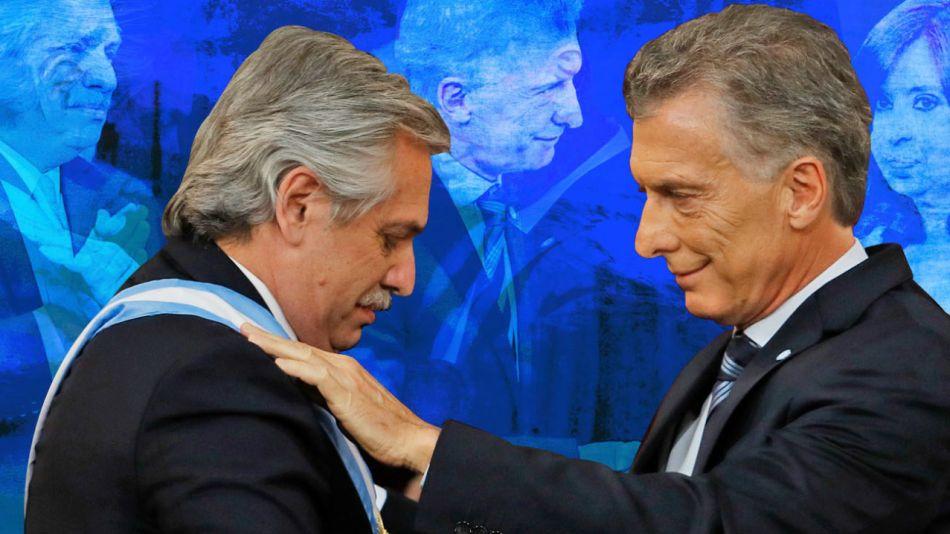 Macri traspasa los atributos de mando a Alberto Fernández