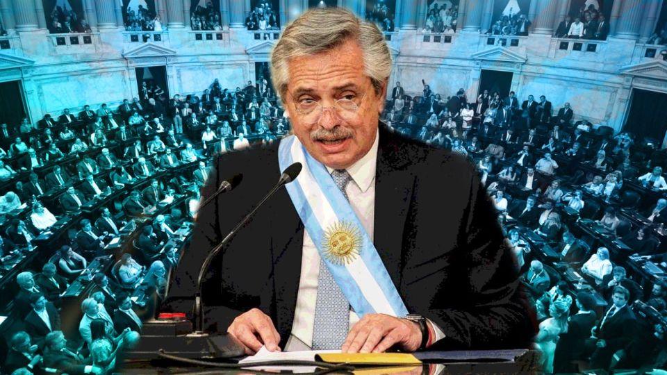 Alberto Fernández pronuncia su discurso