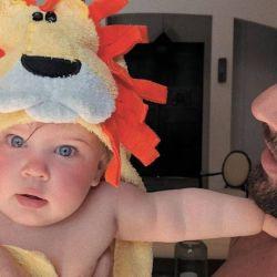 La tierna foto de Ricky Martin y su hija que se hizo viral