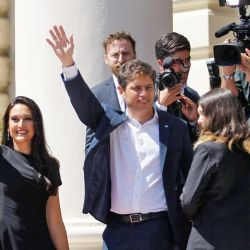Soledad Quereilhac, la primera dama de la Provincia, sorprendió con un sofisticado look