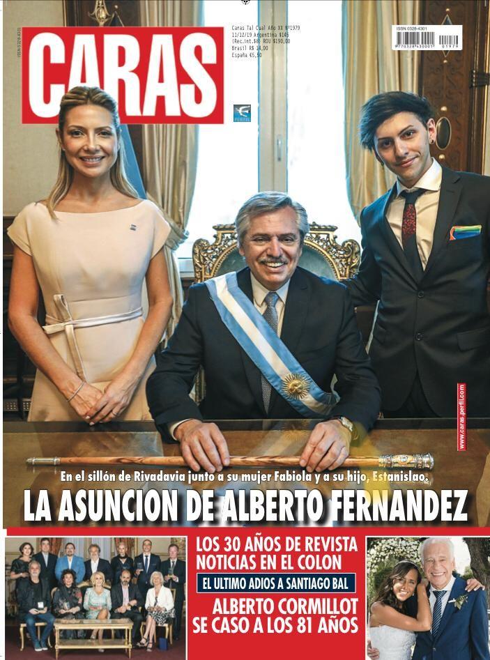 La asunción de Alberto Fernández