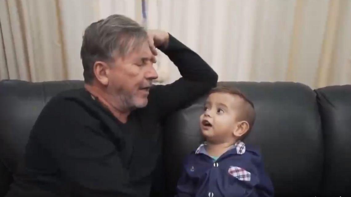 Murió Brunito, el sobrino de 4 años de Ricardo Montaner