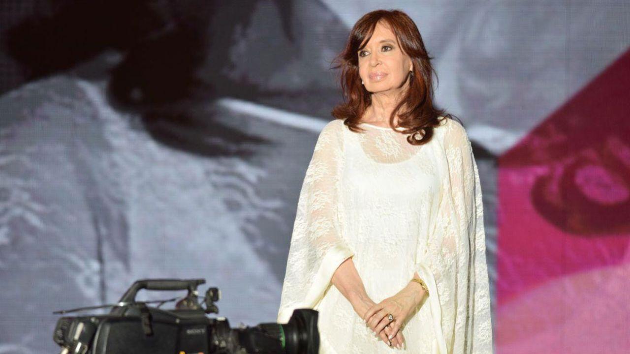 Cristina Kirchner   Foto:Marcelo Escayola