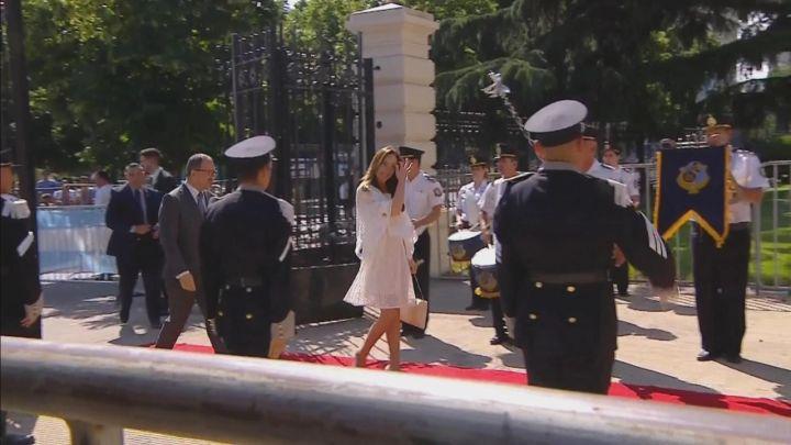 Todos los detalles del look de la Ex Goberbadora, María Eugenia Vidal en la asunción de Kicillof