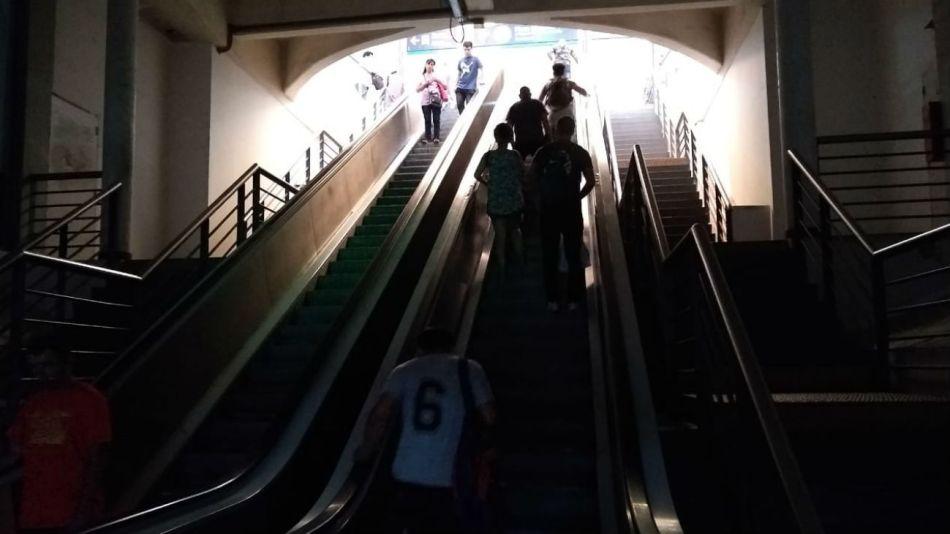 Estación Once sin luz