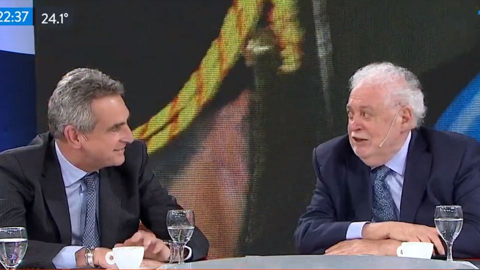 Los ministros Rossi y González García, en 'A Dos Voces', el ciclo político de TN.