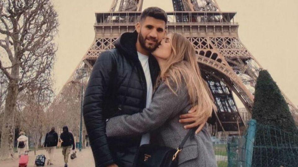 Mica Tinelli y Lisandro López de vacaciones