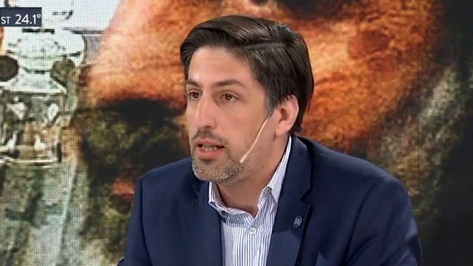 Nicolás Trotta, en A Dos Voces, el programa de TN.
