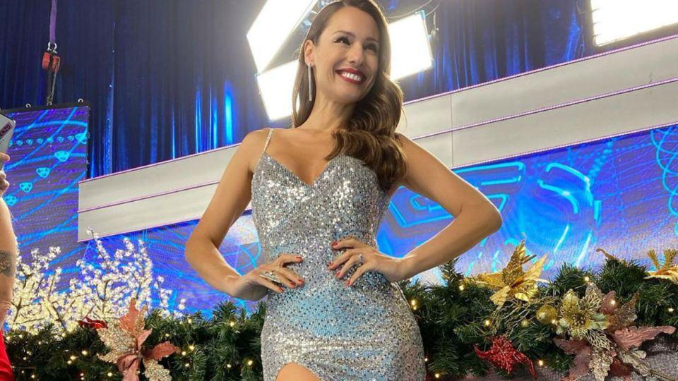 Pampita se sumó al desafío viral y bailó como Calu Rivero
