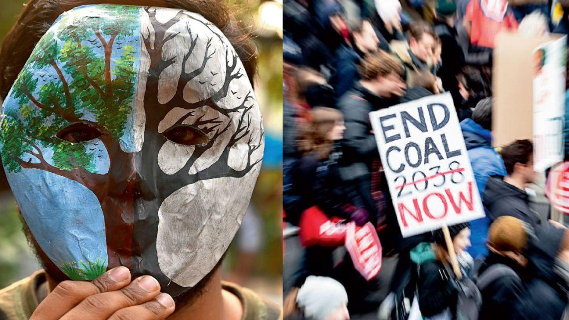 Carbón. Uno de los responsables de la situación actual. Los movimientos sociales piden que se prohíba cuanto antes.  | Foto:AFP