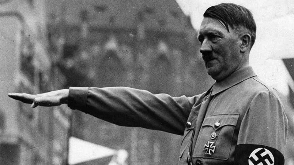 Adolf Hitler, dictador y genocida nazi.