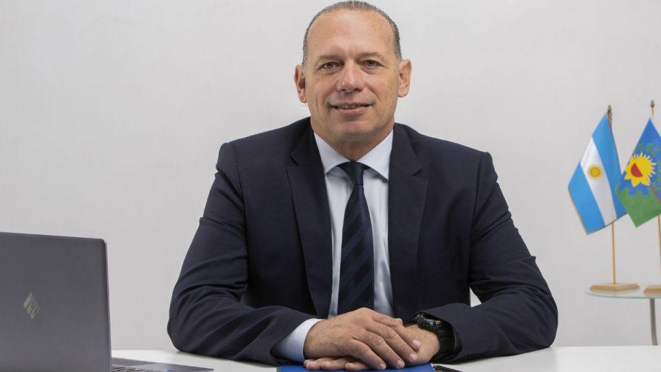 Sergio Berni, ministro de Seguridad.