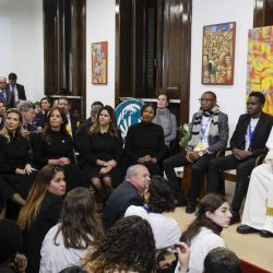Así fue el encuentro de Fabiola Yáñez y el Papa Francisco en el Vaticano