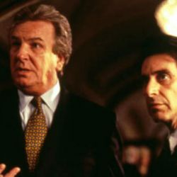 Danny Aiello y Al Pacino en El Padrino II