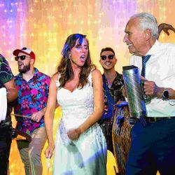 Las 13 mejores fotos del casamiento de Alberto Cormillot y Estefanía Pasquini