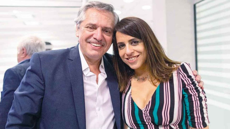 Alberto Fernadez y Victoria Donda