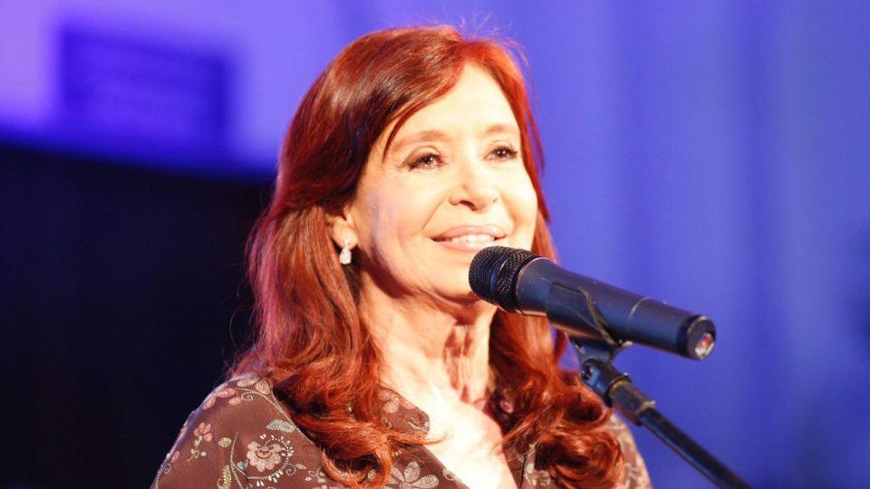 Cristina Kirchner, vicepresidente.