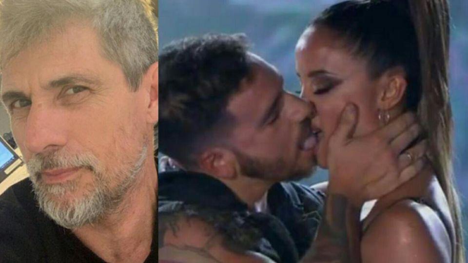 El enojo del Chato Prada tras el tremendo beso de Fede Bal a Lourdes Sánchez