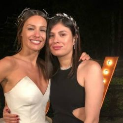 Pampita y Viviana Benítez