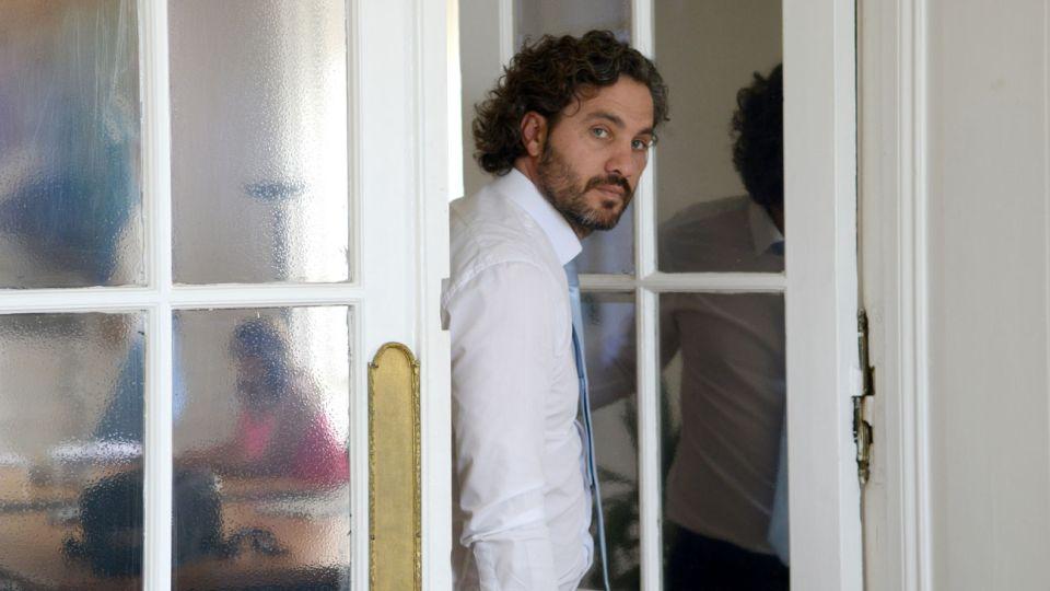 PRIMEROS DIAS. Con 40 años, Santiago Cafiero vive el inicio de la gestión en la Casa Rosada.