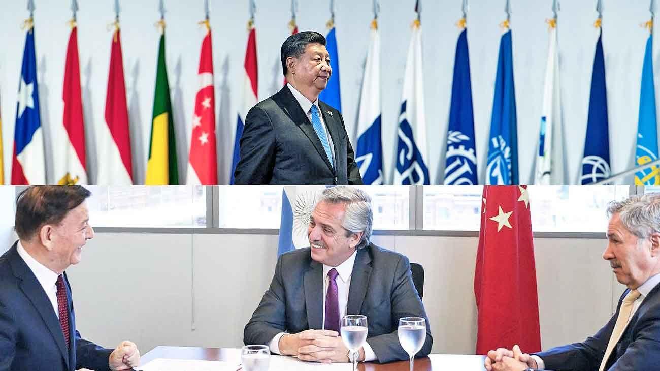 Enviado. Fernández y Solá recibieron esta semana al representante chino que Xi Jinping mandó para la asunción.