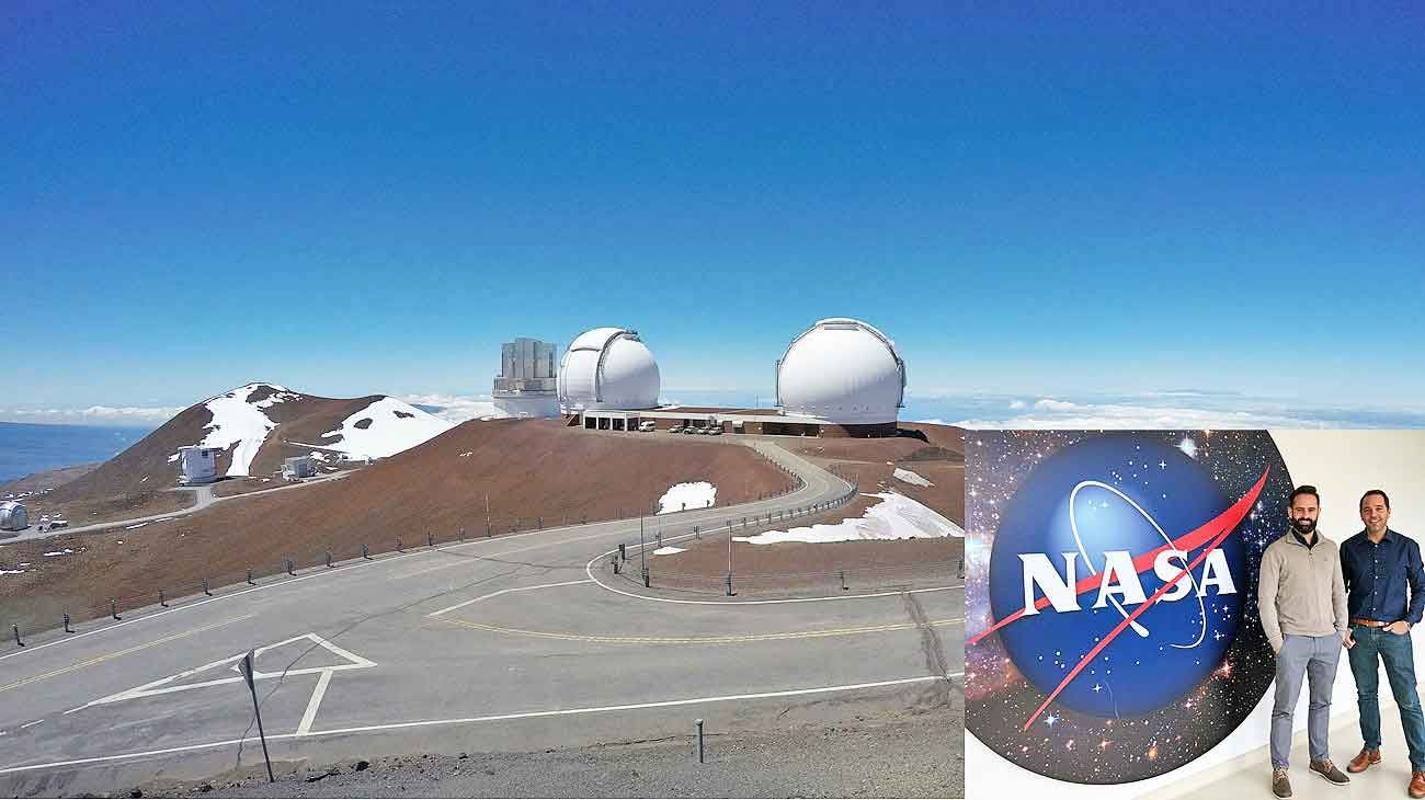 Instrumento. El Observatorio Keck, desde donde se hizo el estudio usando grandes telescopios.