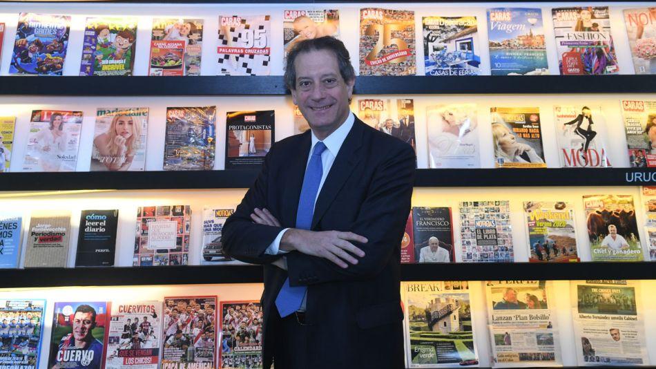 Miguel Angel Pesce, en la entrevista con Jorge Fontevecchia.