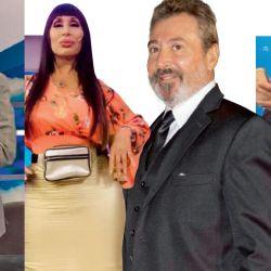 Jorge Rial, Moria Casán, Daniel Vila y Mariano Iúdica | Foto:Cedoc