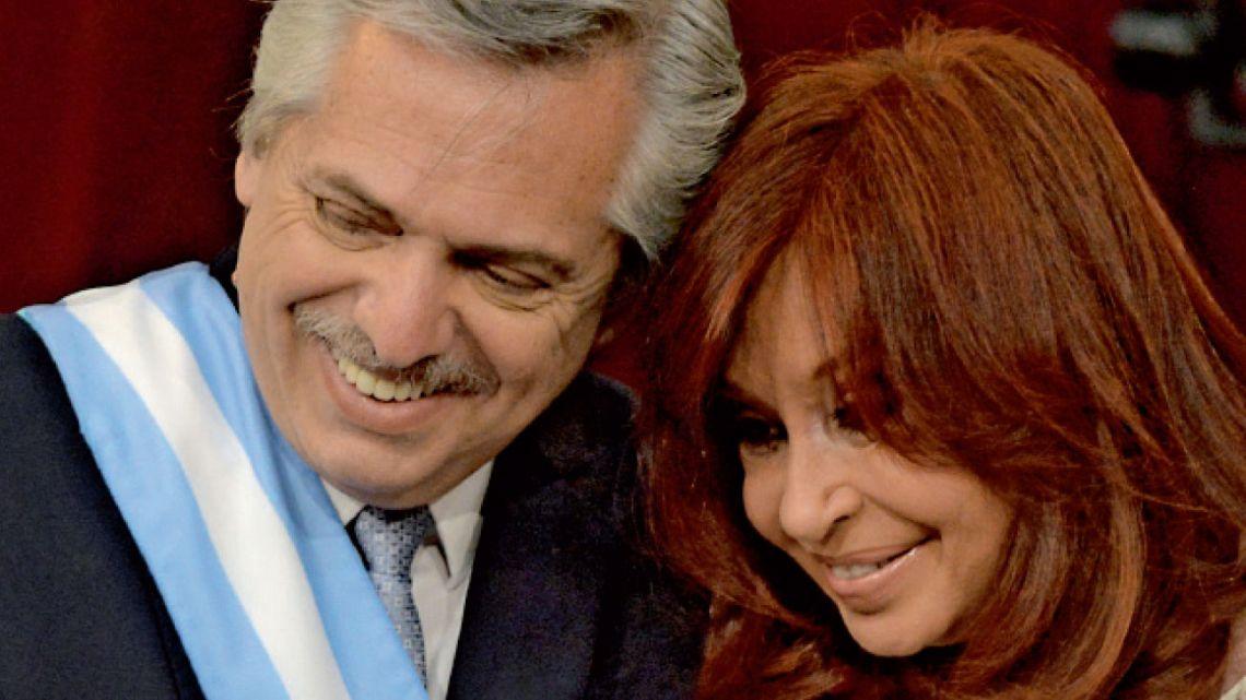 Alberto Fernández y Cristina Kirchner | Foto:Pablo Cuarterolo