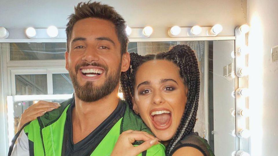 Nicolás Occhiato y Flor Jazmín Peña
