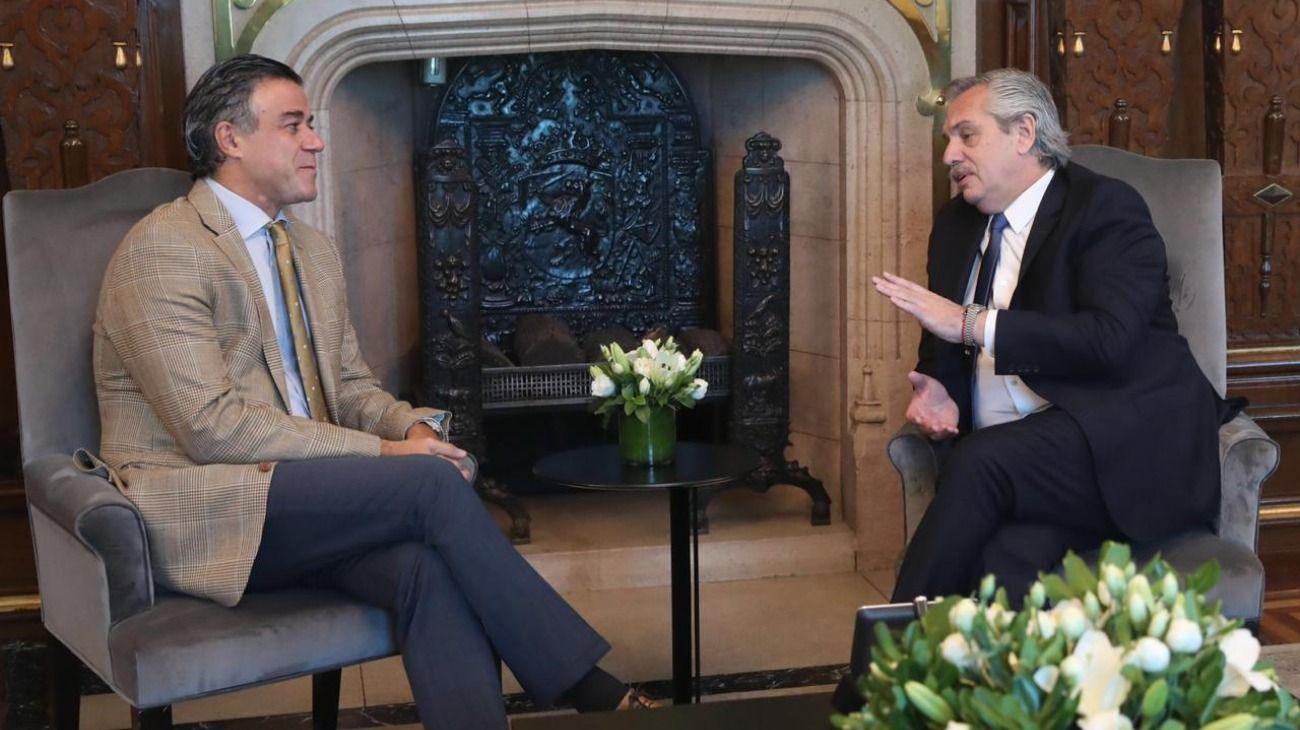 Alberto Fernández recibió a Daniel Rafecas y lo propondrá como Procurador General de la Nación.
