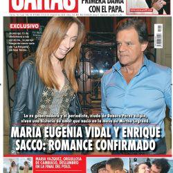 El romance del Año: María Eugenia Vidal y Quique Sacco