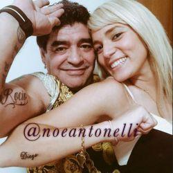 Rocio Oliva tatuaje