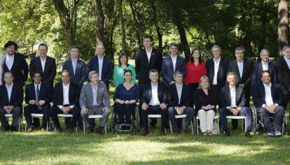 Macri y su gabinete inicial