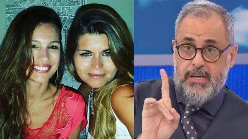 Jorge Rial le hizo una fuerte advertencia a Angie Balbiani sobre Pampita