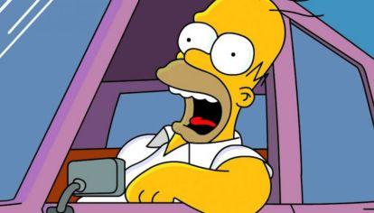 ¿Sabés qué auto maneja Homero Simpson?