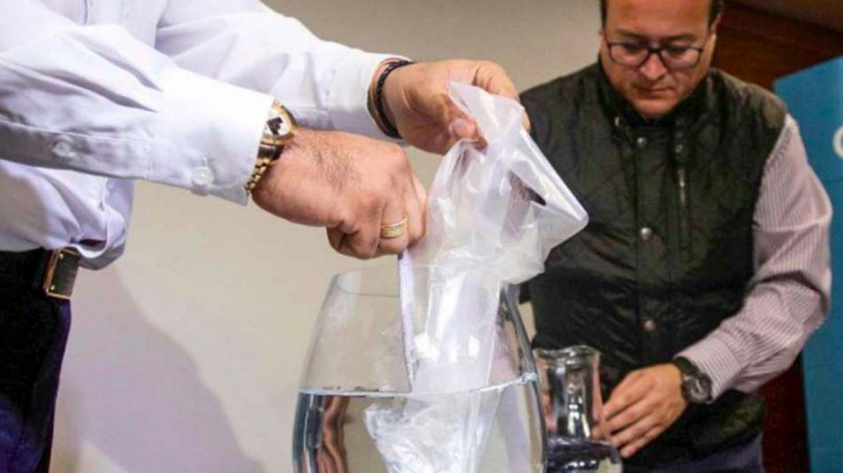 Bolsa soluble en agua