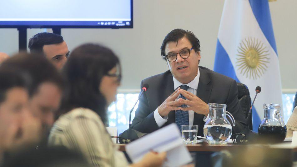 Archivo. El ministro de trabajo Claudio Moroni.