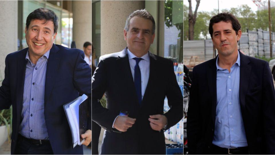 Daniel Arroyo, Agustín Rossi y Eduardo 'Wado' De Pedro quedaron a cargo de Desarrollo Social, Defensa e Interior, respectivamente.