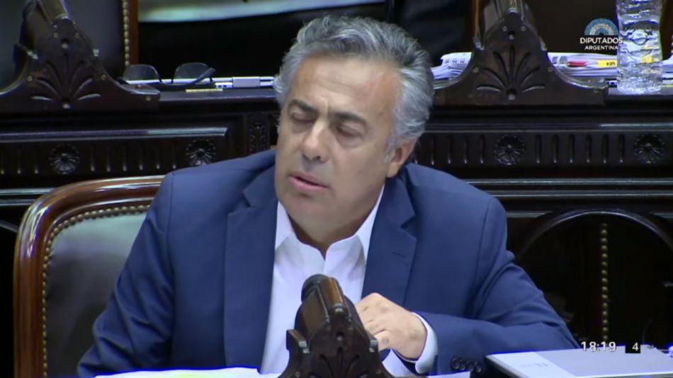 El diputado nacional de la UCR Alfredo Cornejo