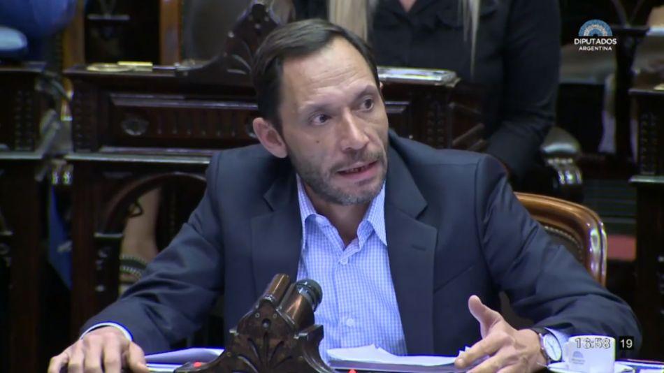 El presidente del bloque de la Coalición Cívica, Maximiliano Ferraro