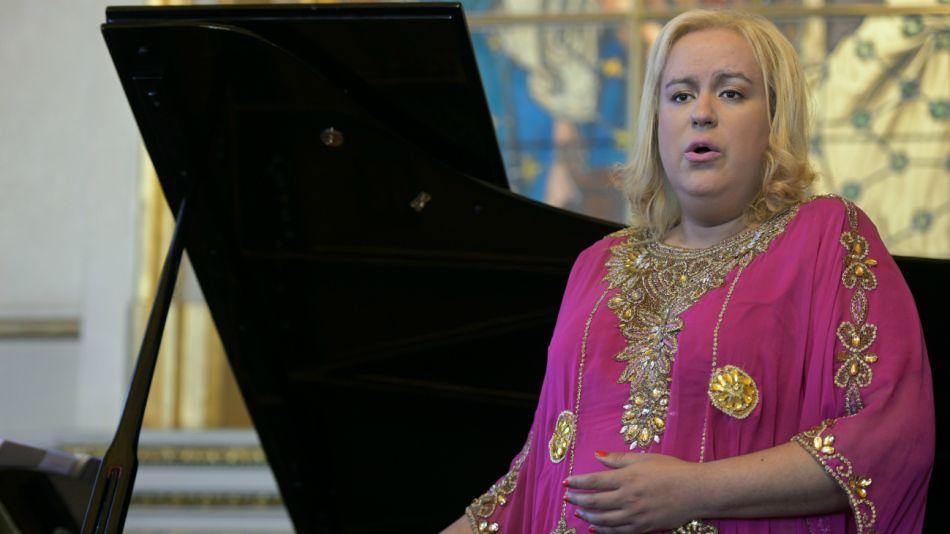 María Castillo de Lima, soprano del Colón