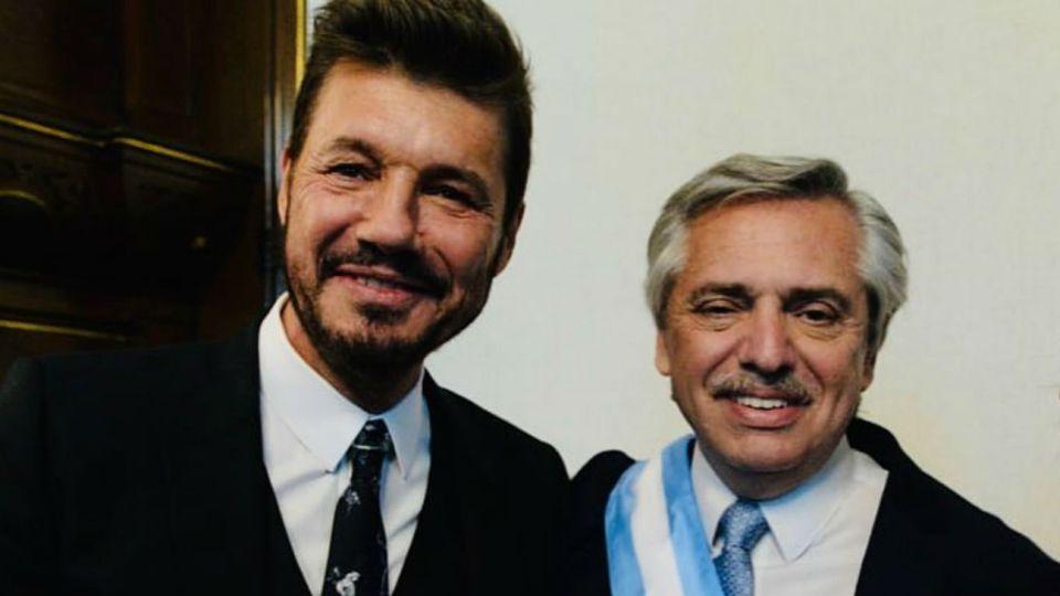 Alberto fernandez felicito a Marcelo Tinelli tras consagrarse como presidente de San Lorenzo