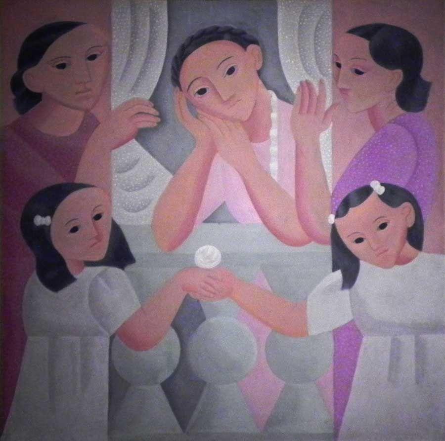 Exposición Norah Borges. Una mujer en la vanguardia, en el Museo Nacional de Bellas Artes.