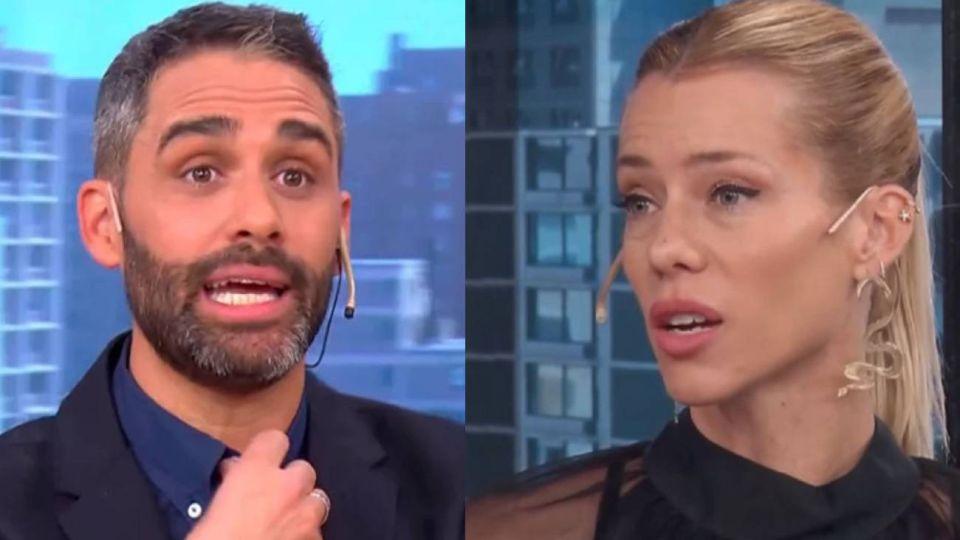 El Pollo Álvarez le hizo una fuerte advertencia a Nicole Neumann