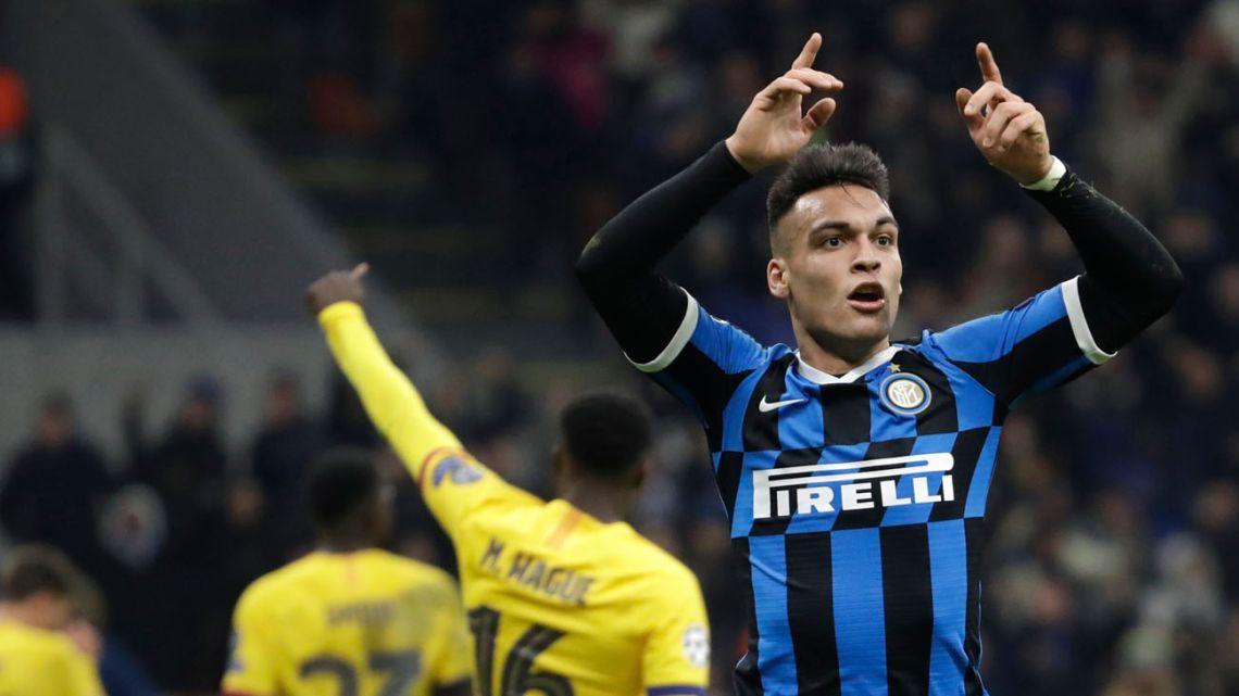 Inter's greatest player, Lautaro Martinez.