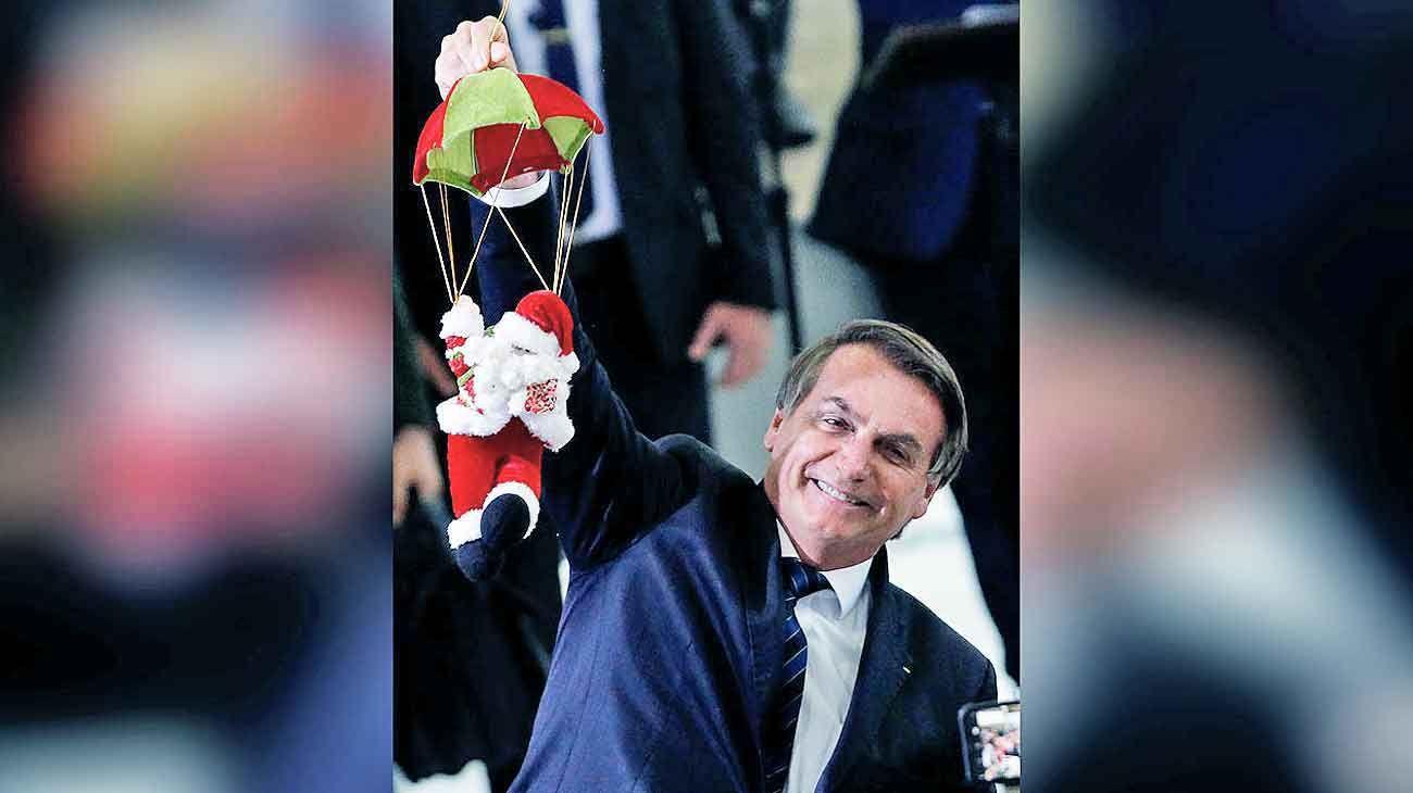 Navidad. Su nuevo partido –el décimo del que forma parte– amenaza con vaciar la derecha brasileña tradicional.