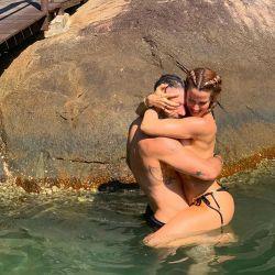 Las vacaciones hot de Miriam Lanzoni